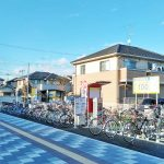 TERIOS CYCLE STATION11 新河岸駅東口前