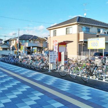 TERIOS CYCLE STATION11 新河岸駅東口前
